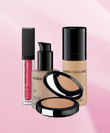 kosmetyki do makijażu Maria Galland